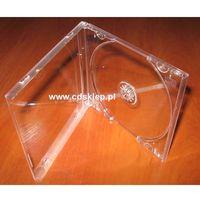 Pudełka i portfele na płyty, Pudełko plastikowe na 1CD przezroczysty tray