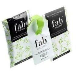 FabLittleBag™ Torebki do wyrzucania zużytych tamponów, podręczne 5 sztuk