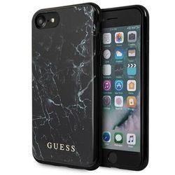 Guess GUHI8PCUMABK iPhone 7/8 czarny/black Marble
