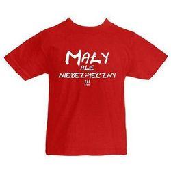 Koszulka z nadrukiem dziecięca Mały ale niebezpieczy dla dziecka