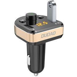 Dudao Transmiter FM Bluetooth ładowarka samochodowa MP3 3.4A 2x USB czarny (R2Pro black)
