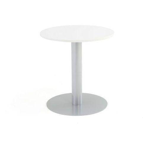 Meble do restauracji i kawiarni, Stół na filarze, Ø700x720 mm, biały