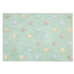 Dywan bawełniany TRICOLOR STAR - różne kolory - Lorena Canals niebieski