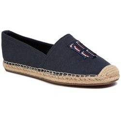 Espadryle TOMMY HILFIGER - Nautical Th Basic Espadrille FW0FW04750 Desert Sky DW5