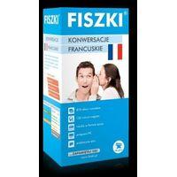 Książki do nauki języka, FISZKI Premium. Konwersacje Francuskie (opr. kartonowa)