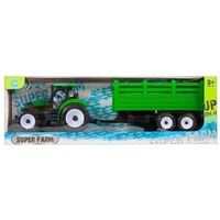 Traktory dla dzieci, Traktor plastikowy z akcesoriami