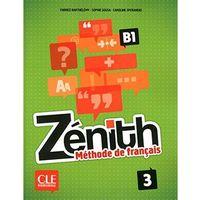 Książki do nauki języka, Zenith 3 Podręcznik + DVD - Barthelemy Fabrice, Sousa Sophie, Sperandio Caroline (opr. miękka)