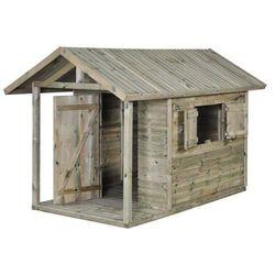 Domek dla dzieci JAKOB 150 x 242,5 x 160 cm SOBEX