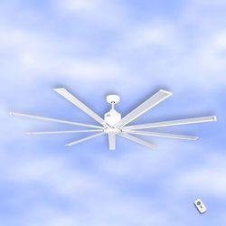 Wentylator sufitowy Big Smooth Eco 220 cm biały
