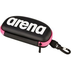 arena Goggle Case, black-white-fuchsia 2019 Akcesoria pływackie i treningowe Przy złożeniu zamówienia do godziny 16 ( od Pon. do Pt., wszystkie metody płatności z wyjątkiem przelewu bankowego), wysyłka odbędzie się tego samego dnia.