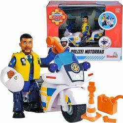 Strażak Sam Motor policyjny i figurka