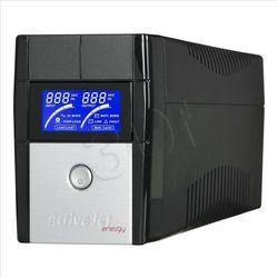 UPS Activejet AJE-850LCD, USB, 2xSchucko 9Ah (AJE-EASY 850VA) Darmowy odbiór w 20 miastach!