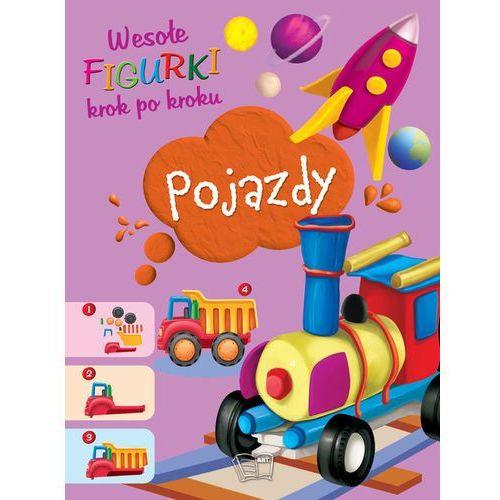 Książki dla dzieci, Pojazdy Wesołe figurki - Praca zbiorowa (opr. broszurowa)