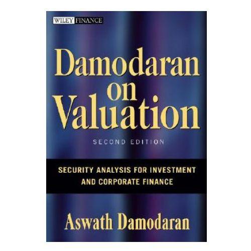 Biblioteka biznesu, Damodaran on Valuation (opr. twarda)