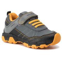 Półbuty i trzewiki dziecięce, Sneakersy GEOX - J Magnetar B. Wpf A J94ACA 050BU C0054 S Black/Yellow