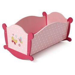 Bayer Chic Kołyska drewniana dla lalek, różowa