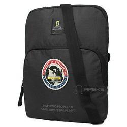 """National Geographic EXPLORER torba na ramię / saszetka / tablet do 10"""" / N01112.06 - czarny"""