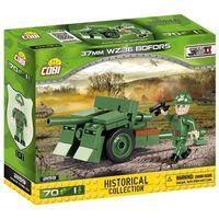 Pozostałe zabawki, Klocki COBI Mała Armia 37 mm wz.36 Bofors - szwedzka armata przeciwpancerna