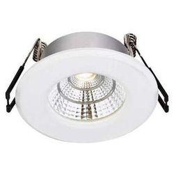 Oczko LAMPA sufitowa HADES 106218 Markslojd zewnętrzna OPRAWA do zabudowy LED 4W IP44 wpust outdoor biały