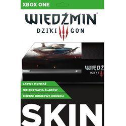 Naklejka XBOX ONE Skin Geralt Biały Wilk