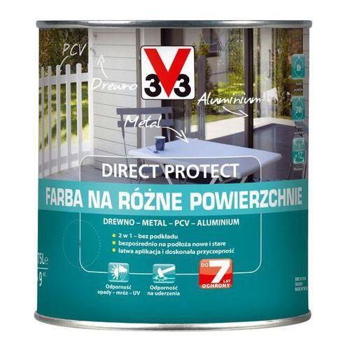 Farby, Farba na różne powierzchnie V33 Direct Protect czarna 0,75 l