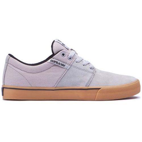 Męskie obuwie sportowe, buty SUPRA - Stacks Vulc Ii Grey Gum (GGM)