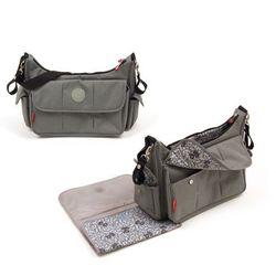 Fisher Price torba pielęgnacyjna szara 39 cm