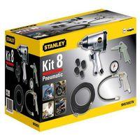 Pozostałe narzędzia pneumatyczne, Akcesoria pneumatyczne Stanley klucz 8 części