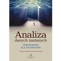 E-booki, Analiza danych zastanych. Przewodnik dla studentów - Marta Makowska