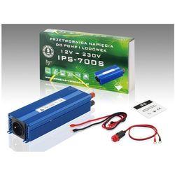 PRZETWORNICA NAPIĘCIA IPS-700S 2G 12VDC / 230VAC Sinus II GENERACJI