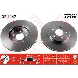 TARCZA HAM TRW DF4147 FORD MONDEO III 1.8 16V, 2.0 16V, 2.0DI 16V 00-, 2.2TDCI 04-