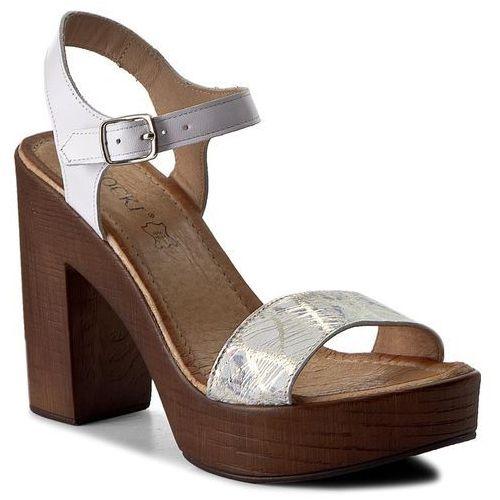 Sandały damskie, Sandały LASOCKI - 2026-06 Biały