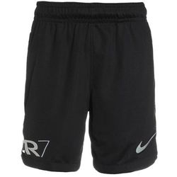 Nike Performance CR7 DRY Krótkie spodenki sportowe black/blue tint/light armory blue
