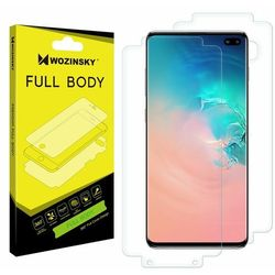 Wozinsky Full Body hydrożel samoregenerująca się folia ochronna na cały telefon Samsung Galaxy S10 Plus (in-display fingerprint sensor friendly)