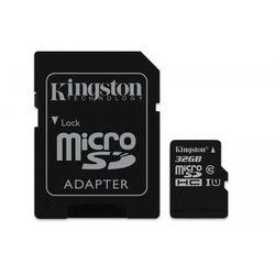 Kingston Karta pamięci Kingston microSDHC Canvas Select 32GB UHS-I Class 10 + adapter