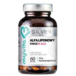 Myvita Silver 100% Kwas Alfaliponowy R-Ala 60 K