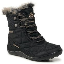 Śniegowce COLUMBIA - Minx™ Shorty III BL591010 Black/Pebble 010