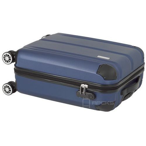 Torby i walizki, Travelite City mała walizka kabinowa 20/55 cm / granatowa - granatowy ZAPISZ SIĘ DO NASZEGO NEWSLETTERA, A OTRZYMASZ VOUCHER Z 15% ZNIŻKĄ