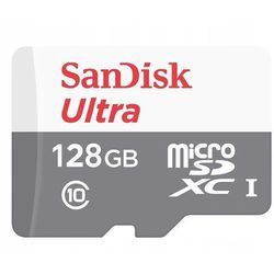 Karta pamięci SANDISK Ultra microSDXC 128GB 80MB/s Class 10 UHS-I