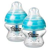 Butelki do karmienia, Butelka antykolkowa 2x150ml Advanced Tommee Tippee (niebieska)
