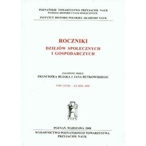 Biblioteka biznesu, Roczniki dziejów społecznych i gospodarczych (opr. miękka)