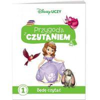 Książki dla dzieci, Disney Uczy. Jej Wysokość Zosia. Przygoda z Czytaniem. Będę czytać (opr. miękka)