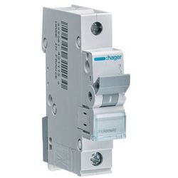 Hager MCB Wyłącznik nadprądowy 1P B 20A MBN120E