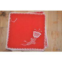 Serwetki, Haft kujawski - serwetki ręcznie haftowane komplet 6 sztuk (kz-8)
