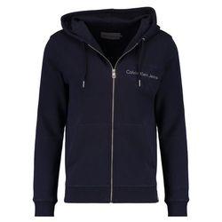 Calvin Klein Jeans HASTO ZIP SLIM FIT Bluza z kapturem blue
