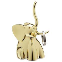 Wieszak na biżuterię Zoola Słoń Brass