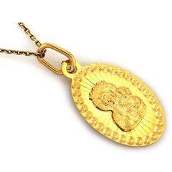 Zawieszka złota medalik - 0,64 g