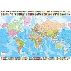 Puzzle 1500 el. mapa polityczna świata