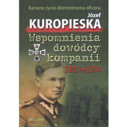 Wspomnienia dowódcy kompanii 1923-1934 (opr. miękka)