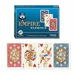 Karty do gry Piatnik 2 talie pasjans empire